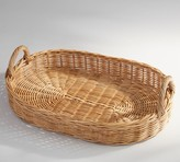 Pottery Barn Willow Wicker Serving Tray