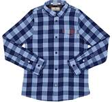 Scotch Shrunk Kids' Gingham Washed Cotton Poplin Shirt