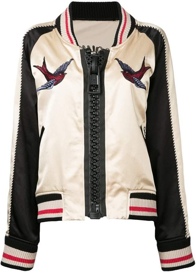 Puma Maison Yasuhiro embroidered bomber jacket