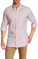 Peter Millar Nanluxe Twill Tattersall Regular Fit Sport Shirt