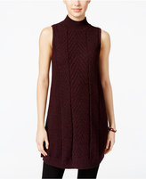 Style&Co. Style & Co. Petite Mock-Neck Tunic Sweater, Only at Macy's