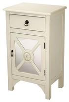 Corena Wooden Accent Cabinet August Grove Color: Antique White