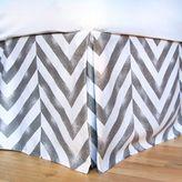 Dormify Tiled Chevron Bed Skirt