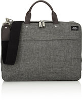 Jack Spade Men's Tech Oxford Slim Briefcase-BLACK, GREY