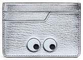Anya Hindmarch 'Eyes' embossed metallic leather card holder