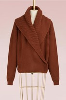 Jil Sander Wool and cashmere cardigan