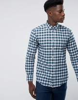 Benetton Checked Shirt In Regular Fit