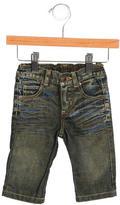 Roberto Cavalli Boys' Distressed Straight-Leg Jeans w/ Tags