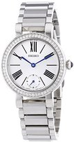 Seiko SRK027P1 Women's Quartz Analogue Watch-White Face-Grey Steel Bracelet