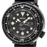 Seiko Black Steel Watches