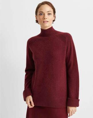 Club Monaco Boiled Cashmere Patch Sweater