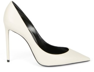 Saint Laurent Zoe Leather Pumps