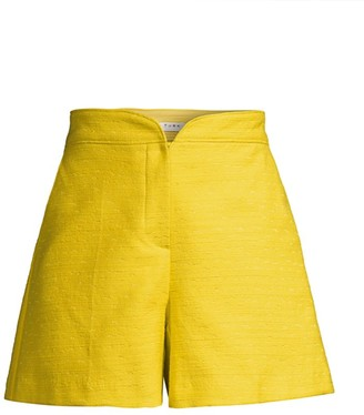 Trina Turk Perennial Twill Shorts