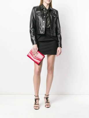 Saint Laurent Black Leather Jacket