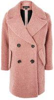 Topshop Boucle textured coat