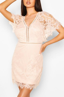 boohoo Boutique All Over Lace Bodycon Dress