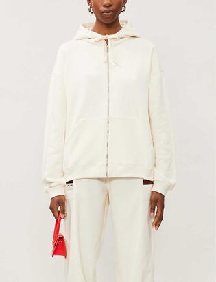 Gucci Logo-print cotton-jersey hoody