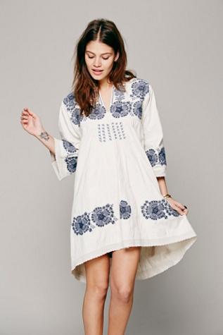 Free People FP New Romantics Doll Face Peasant Dress
