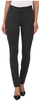 Jag Jeans Rowan Mid Rise Slim Double Knit Ponte