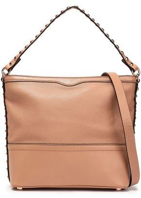Rebecca Minkoff Blythe Small Studded Textured-leather Shoulder Bag