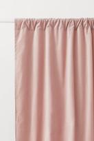 H&M 2-pack Velvet Curtain Panels - Pink