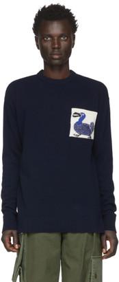 Loewe Navy William De Morgan Dodo Sweater