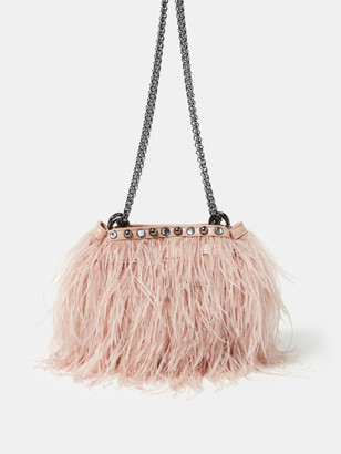 Rebecca Minkoff Ruby Feather Leather Crossbody Bag