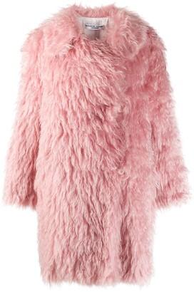 Katharine Hamnett Oversized Faux Fur Coat