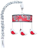 Trend Lab Crib Mobile - Red Flowers & Birds