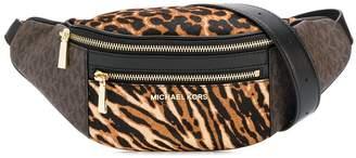 MICHAEL Michael Kors animal print belt bag