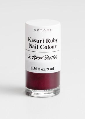 And other stories Kasuri Ruby Nail Polish