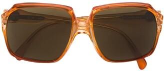Yves Saint Laurent Pre Owned Oversized Frame Sunglasses