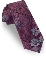 Ted Baker London men/'s Pink Floral pattern Cotton Tie MSRP $95