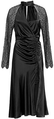 Jonathan Simkhai Silk Lace Keyhole Dress