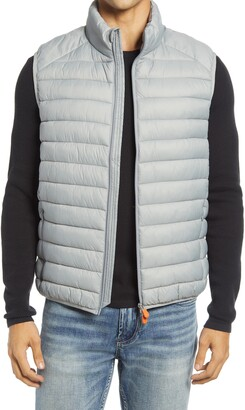 Save The Duck Solid Zip Puffer Vest