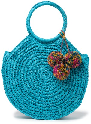 Melrose and Market Straw O-Ring Handle Bag