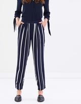 Wallis Variated Stripe Trousers