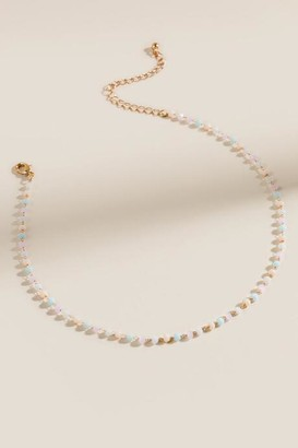 francesca's Dara Beaded Rosary Choker - Multi