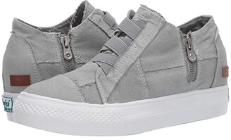 Blowfish Mamba (Black Color Washed Canvas) Women's Shoes