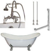 "Cambridge Plumbing 71"" L x 30"" W Bathtub"