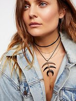 Free People Wren Triple Horn Necklace