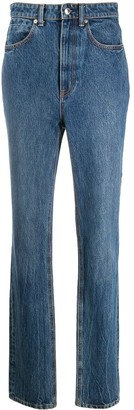 Alexander Wang High-Waisted Slim Fit Jeans
