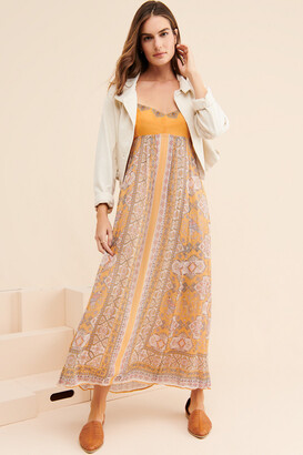 Anthropologie Calida Maxi Dress