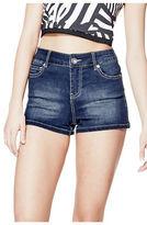 GUESS Women's Katiana High-Rise Denim Shorts