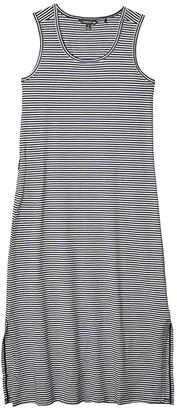 Toad&Co Samba Paseo Midi Dress (True Navy Stripe) Women's Dress