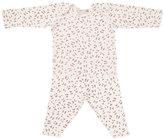 Bonpoint Cherry-Print T-Shirt w/ Leggings, Size 1 Month-2T