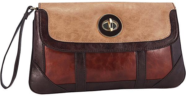 Koret Handbags Triple Play Clutch
