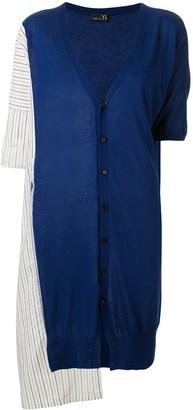Y's Striped Pattern Cardigan