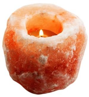 Evolution Salt Co. Natural Himalayan Salt Tealight Candle Holder