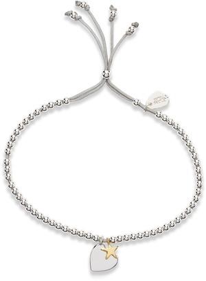 Estella Bartlett Heart & Star Liberty Bracelet